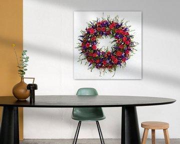 bloemenkrans van Bert Bouwmeester