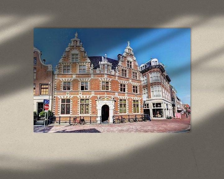 Sfeerimpressie: Hoorn Statenlogement Noord-Holland Nederland van Hendrik-Jan Kornelis