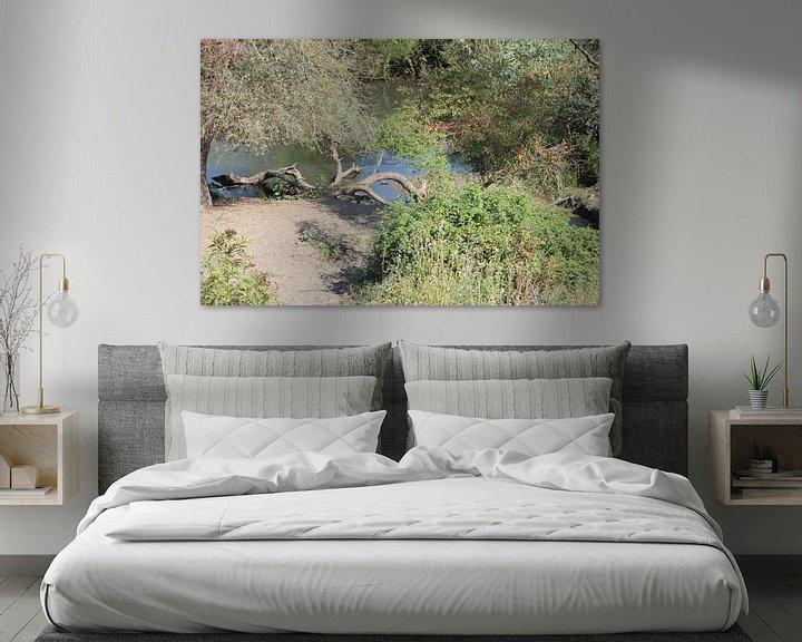 Sfeerimpressie: Kerkini-meer - vijver achter de dam van ADLER & Co / Caj Kessler
