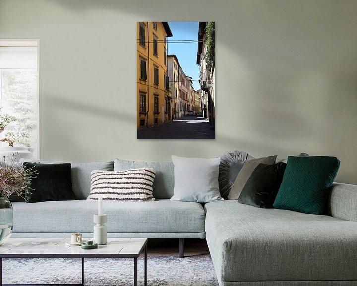 Sfeerimpressie: Toscane Italië Lucca Binnenstad van Hendrik-Jan Kornelis