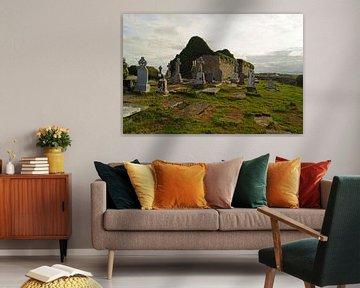 Die Ruinen der mittelalterlichen Kirche von Kilmacreehy von Babetts Bildergalerie