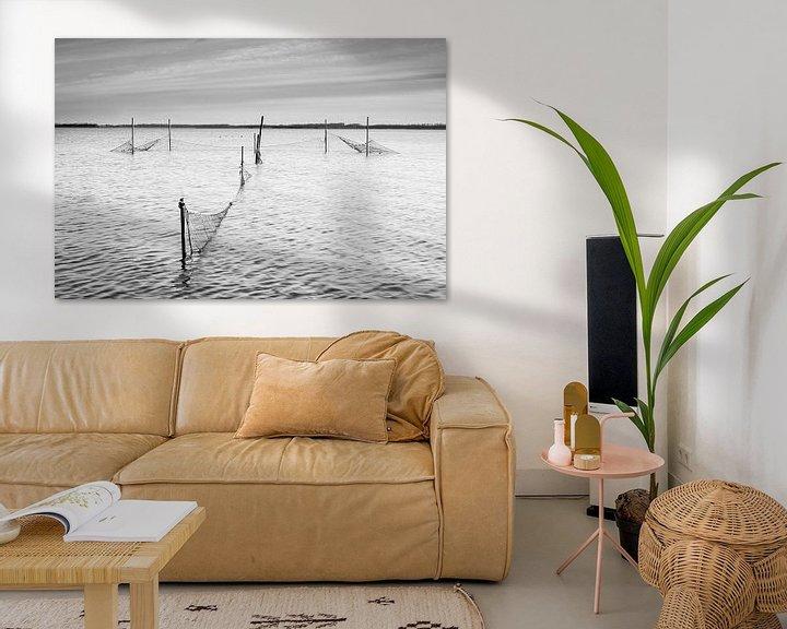 Beispiel: Palingfuik in het Lauwersmeer von robert wierenga