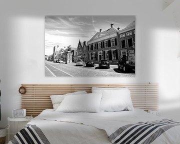 Vianen Utrecht Innere Stadt Schwarz und Weiß von Hendrik-Jan Kornelis