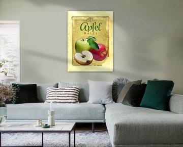 Küchenbild Äpfel von Dirk H. Wendt
