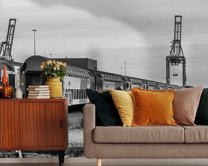 Impression: Trains shunted (black and white) sur Remco Bosshard