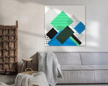 Farbenfrohe Geometrie von Jacob von Sternberg