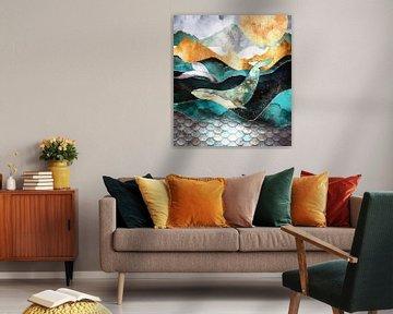 Ozean Abstrakt von Jacky Gerritsen