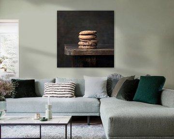 Modernes Stillleben Kekse von Silvia Thiel