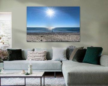 Groyne - Bow - Ummanz Peninsula van GH Foto & Artdesign