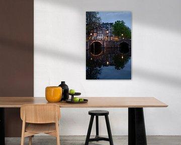 Reguliersgracht Amsterdam van Manuuu S
