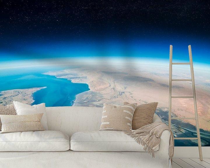 Sfeerimpressie behang: Beautiful Earth van Martijn Kort