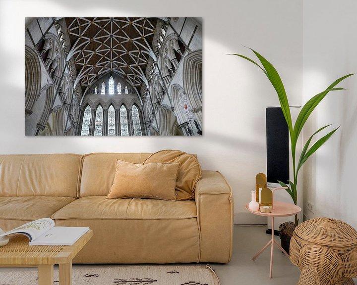 Impression: La cathédrale anglaise sur christine b-b müller