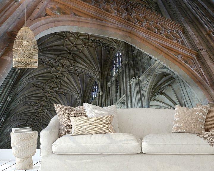 Sfeerimpressie behang: Canterbury van christine b-b müller