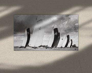 Halve wind op het Slotermeer van ThomasVaer Tom Coehoorn