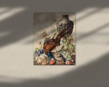 Stilleben mit Steinamphora, Sebastian Wegmayr