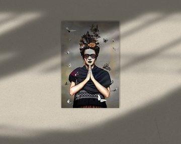 Frida Kahlo und ihre Schmetterlinge. 2. Auflage von Rudy & Gisela Schlechter