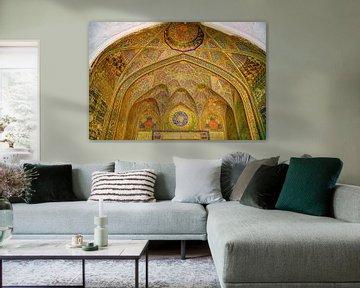 Interieur Madrassa Bukhara van Yvonne Smits