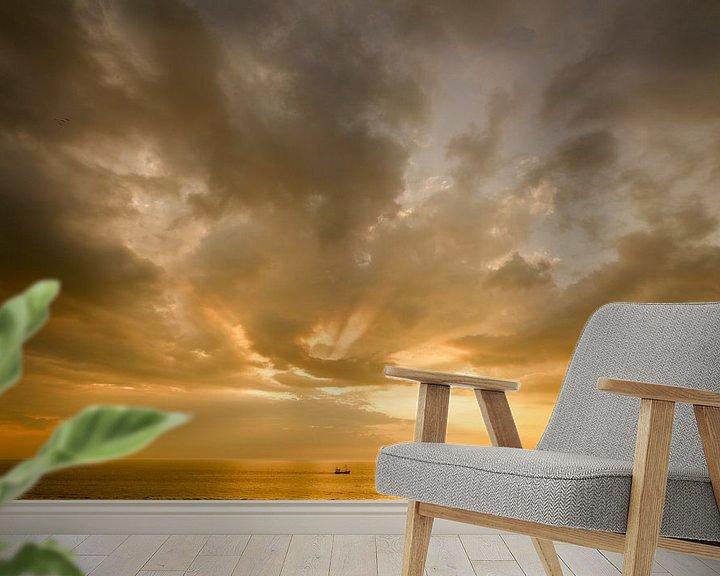 Sfeerimpressie behang: Sunset van Richard Marks