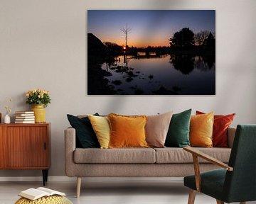 Sonnenaufgang in Limburg von Nicole Schmidt