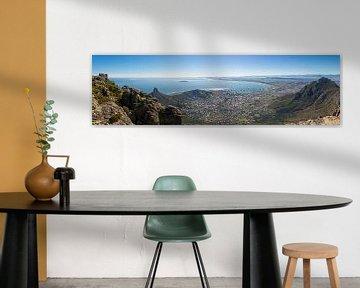 Kapstadt vom Tafelberg aus von Eric van den Berg