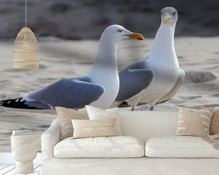 Beispiel fototapete: Ein Tag am Strand. von Anjo ten Kate