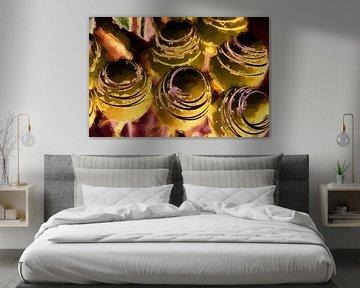 Goldene Kugeln Kunst von Marcel Kieffer