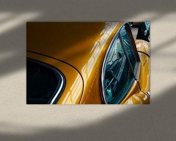 Jaguar E-Type Gold van Truckpowerr