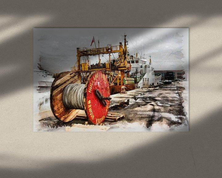 Sfeerimpressie: Zeehaven IJmuiden van Michel Derksen