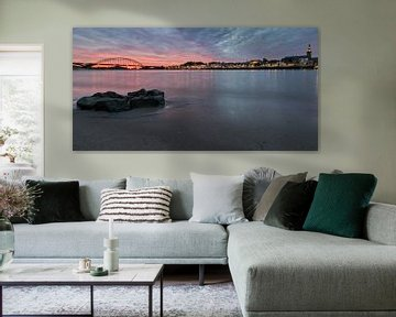 Skyline Nijmegen van Tadeusz Stolte