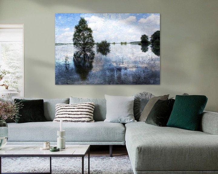 Sfeerimpressie: waving trees van Yvonne Blokland