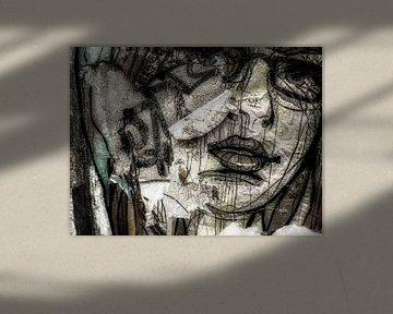 graffiti wall van Rudy & Gisela Schlechter