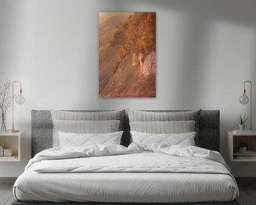 Malerische Kreideküste von Martin Wasilewski