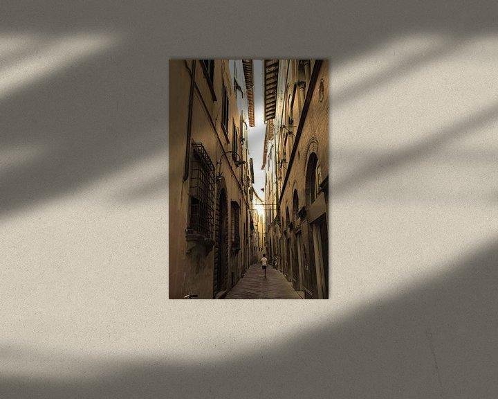 Sfeerimpressie: Toscane Italië Lucca Binnenstad Oud van Hendrik-Jan Kornelis