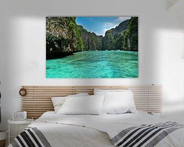 Adembenemend landschap op Koh Phi Phi van David Esser