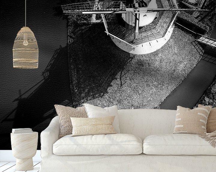 Sfeerimpressie behang: Molen De Vlinder van Dick Jeukens