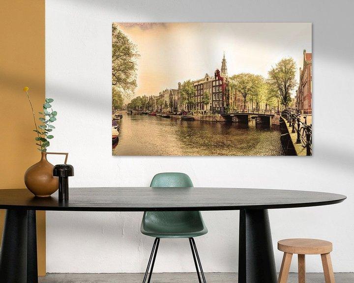 Sfeerimpressie: Zuiderkerk Amsterdam Nederland Oud van Hendrik-Jan Kornelis