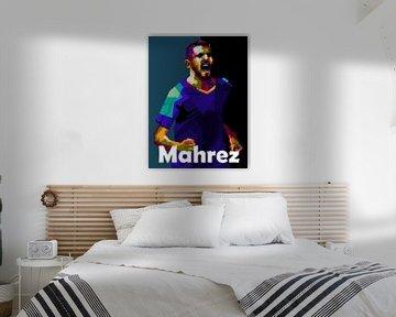 Riyad Mahrez WPAP von miru arts