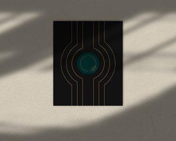 Moderne Kunst - Kreise von Studio Malabar