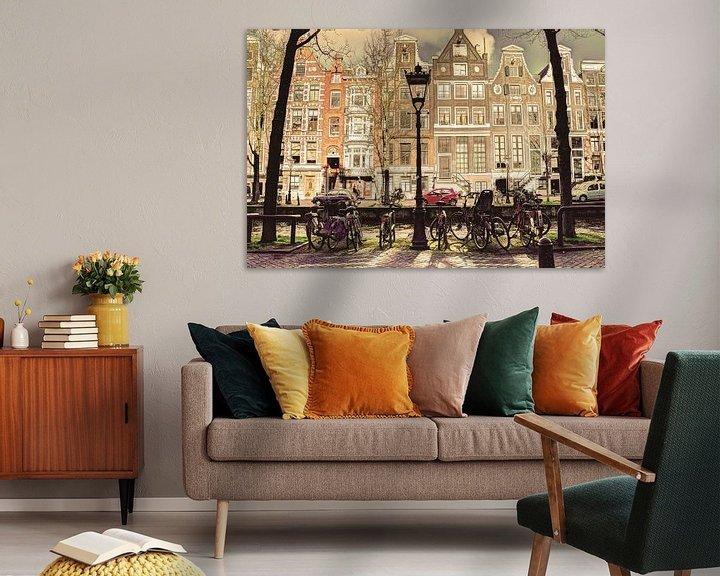 Sfeerimpressie: Binnenstad van Amsterdam in de Winter Oud van Hendrik-Jan Kornelis