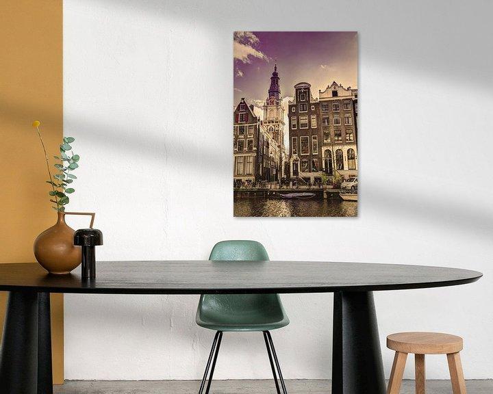 Sfeerimpressie: Zuiderkerk Amsterdam Kloveniersburgwal Winter Oud van Hendrik-Jan Kornelis