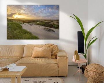 Terschelling und die schöne Natur von De Boschplaat von Dirk van Egmond