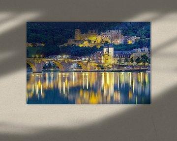Heidelberg 's avonds van Patrick Lohmüller
