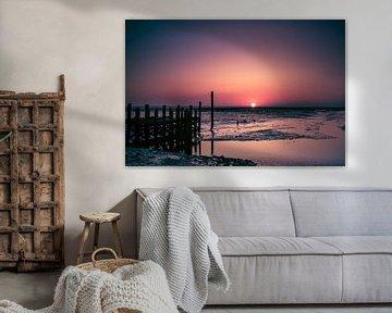 Zonsopgang op Texel van Karin van Rooijen Fotografie