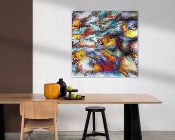 Abstrait Basse Pointillisme II sur Maurice Dawson