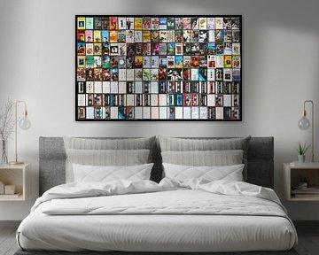 Sammlung von Musikkassetten