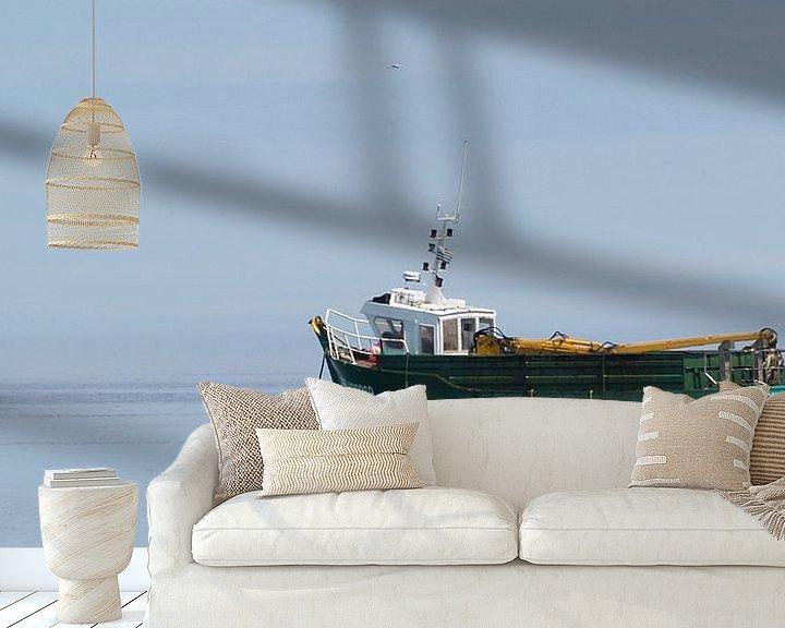 Beispiel fototapete: Fischerboot von Peter Morgenroth