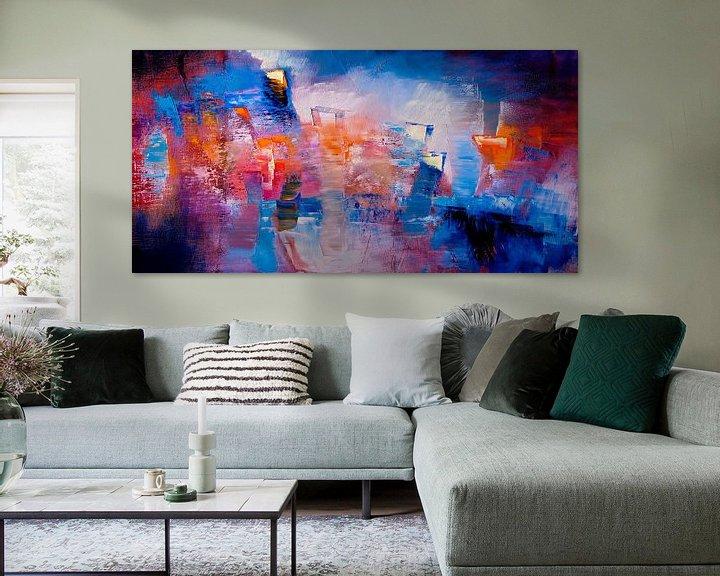 Beispiel: Hier und jetzt - leuchtende Farben und Formen von Annette Schmucker