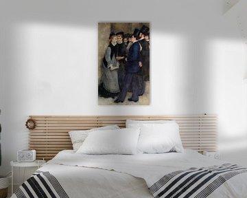 Renoir, Der Ausgang des Konservatoriums (1876-1877)
