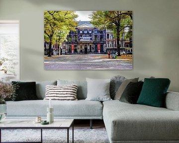 Paleis Lange Voorhout Escher in het Paleis Den Haag Nederland van Hendrik-Jan Kornelis
