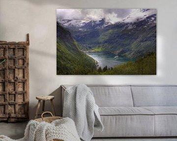 Geirangerfjord van Stephan Neven